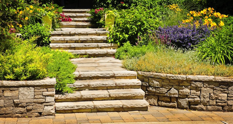 Steinmauer Garten Mediterran Images ...