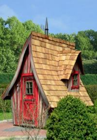 Sehr Lieblingsplatz -Märchenhafte Gartenhäuser bei - KÜSTERS Garten-Bau BK05